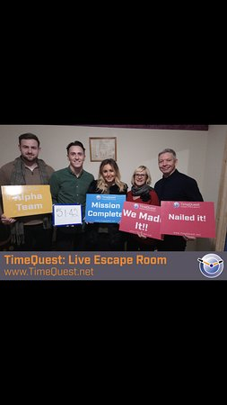 Timequest Live Escape Room Paddock Wood 2019 All You