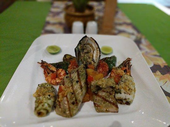 Sanur, Indonesia: Aromatic Seafood Platter