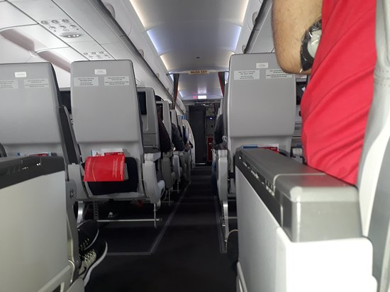 Avianca: Modern, uptodate & plenty of room in the cabin of main long-haul flight UK to Bogota and Bogota to Lima 3hr section