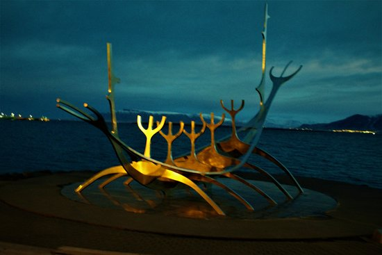 "Skuggi Hotel by Keahotels : ""The Sun Voyager"" A ten minute walk from hotel."