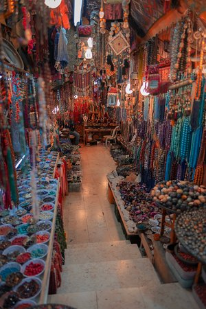 One of an endless number of beautiful shops in the Old City of Jerusalem.