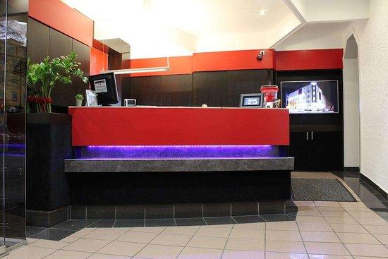 Reception TOP Hotel Hohenstaufen Koblenz