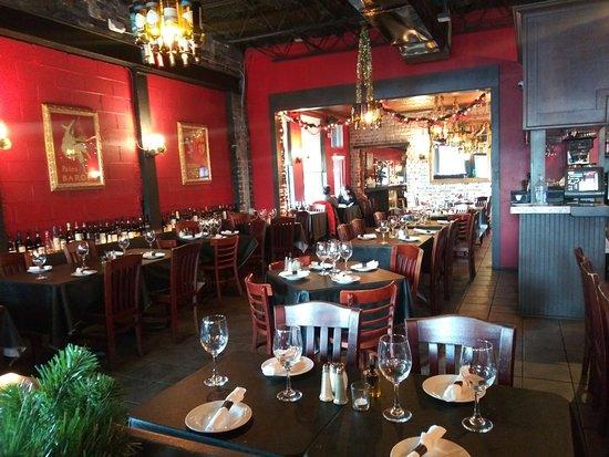 Corleone's Trattoria: Interior of Restaurant