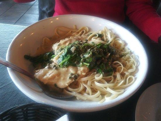 Corleone's Trattoria: Chicken Piccatta and Pasta