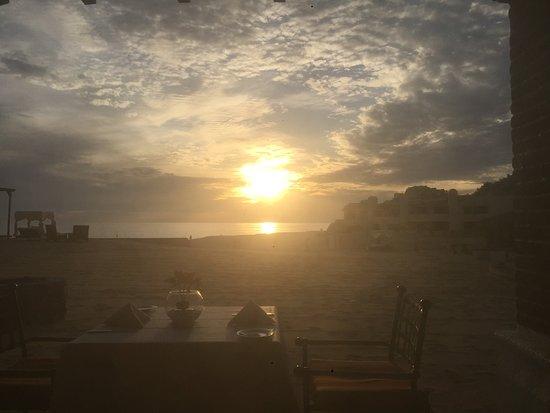 Sunset at the Tejaban Restaurant!
