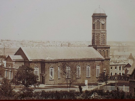 Photo of cathedral at original site