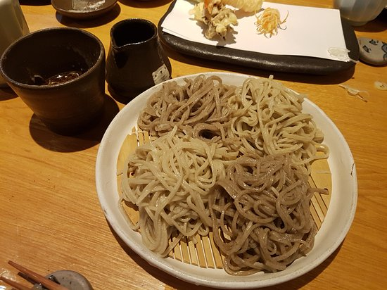 2 types of cold soba