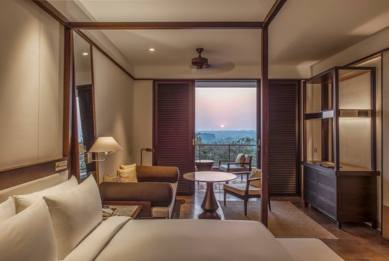 Hilton Goa Resort Guest Room with Sunset Views