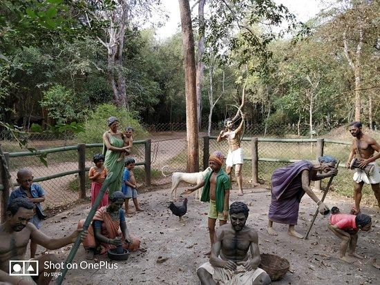 Nisargadhama Forest: village scene