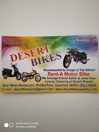 Desert Bikes Photo