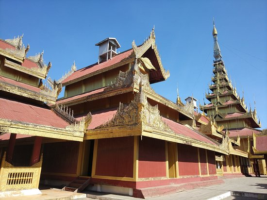 Mandalay, Birmania: Palace 2
