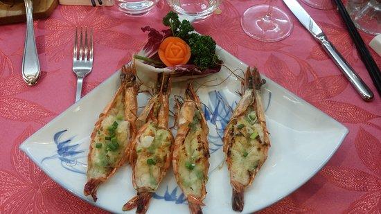 Au Gourmet D'Indochine: Gambas grillés.