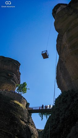 """Visit Meteora, all year round, with Greek Adventure. Walk to the """"holy"""" paths, visit the monasteries, explore their unknown and wonderful nature!   #greek_adventure #greece #meteora #hiking #experiencedifferentgreece"""