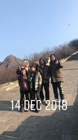 English speaking driver in Beijing: Great Wall trip with John