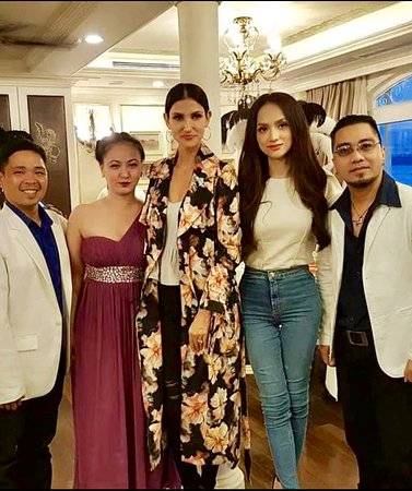 Saigon Princess - Unique Luxurious Dining Cruise: Cindy Bishop Asian Next Top Model visit onboard