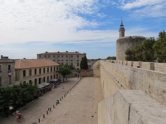Aigues-Mortes, Prancis: intramuros