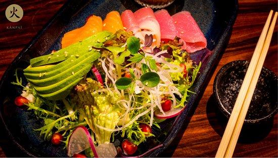 Kanpai: Sashimi Salad!
