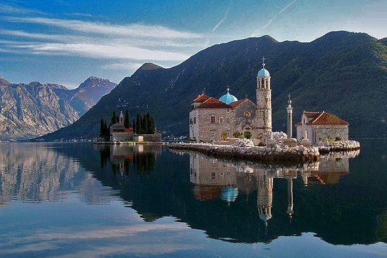 Mont Travelers Podgorica: Our Lady of the Rocks island near Perast town