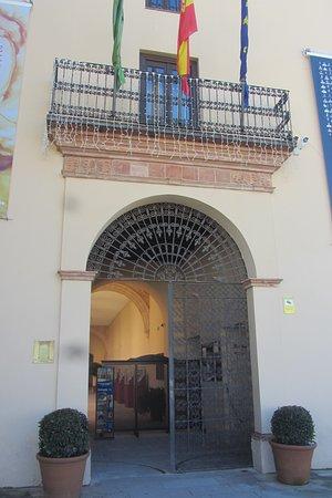 Entrance to the Palacio de Congresos.