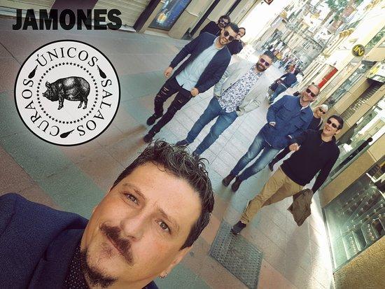 Bar Jamones: Almuerzo de Empresa Jamonera