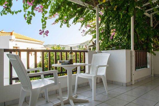 Balcony - Picture of Hotel Golden Sun, Samos - Tripadvisor