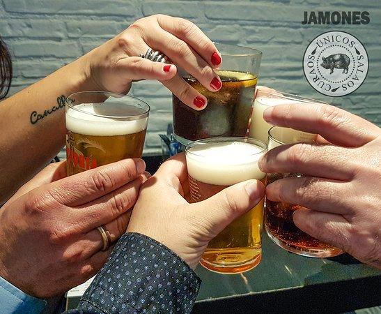 Bar Jamones: Salud!!!