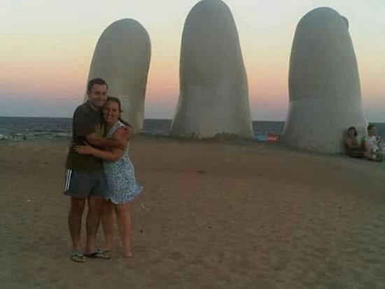 Punta del Este, Uruguay: Los Dedos Playa Brava