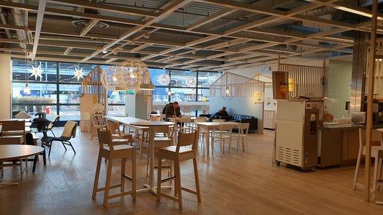 Restaurant Ikea Evry : La salle de restauration.