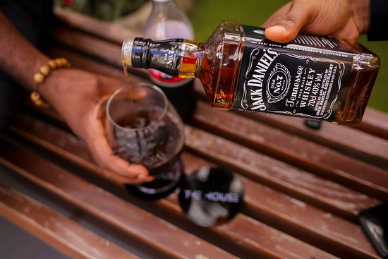 Whiskey and coke ...