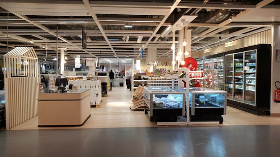 Restaurant Ikea Evry : Le magasin d'épicerie fine attenant.