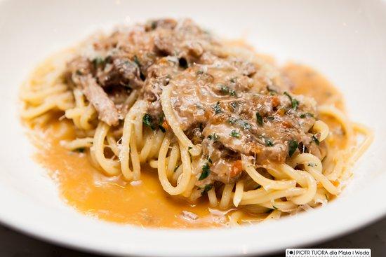 Maka i Woda: Lunch pasta