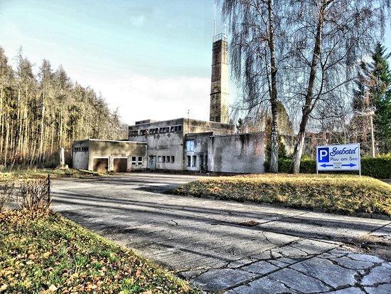 Plau am See, Germany: Seehotel Parkplatzschild