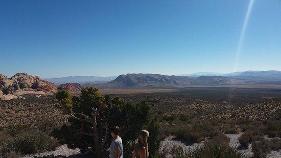 Red Rock Canyon nel deserto attorno a Las vegas