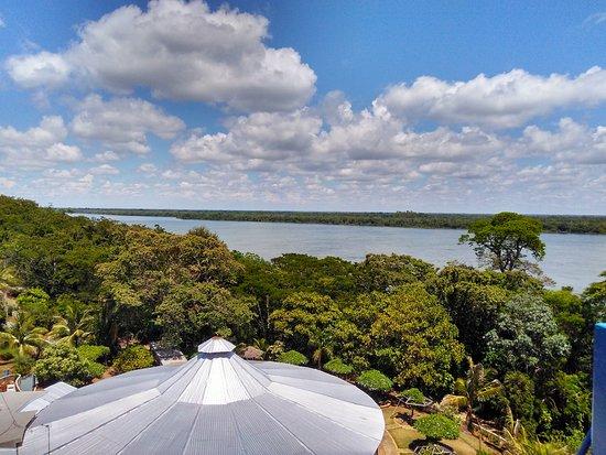 Porto Rico, PR: vista do parque de cima do toboágua 