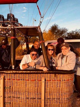 Las Vegas Hot Air Balloon Ride: Ready to go