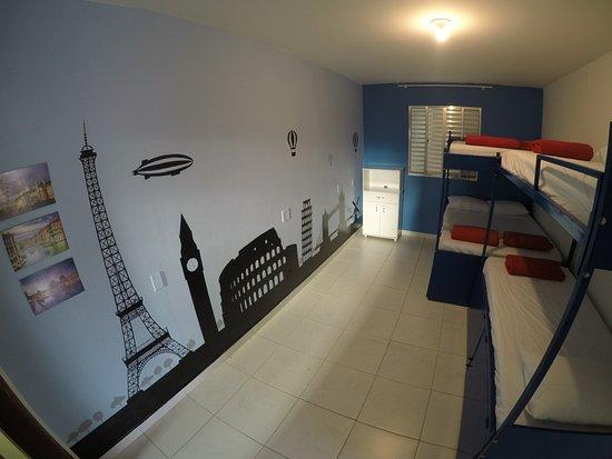 Del Mundo Hostel: Quarto Europa