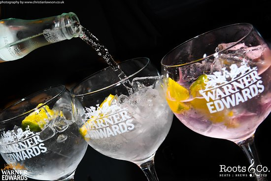 Roots & Co Warner Edwards Gin & Tonic 20 Post Office Road 01202 558399