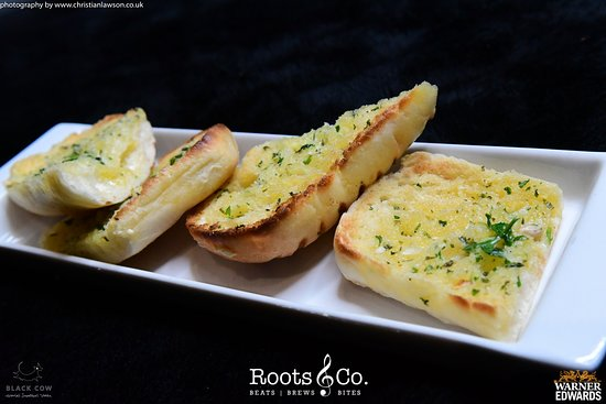 Roots & Co Sourdough Garlic Chunks |  20 Post Office Road 01202 558399