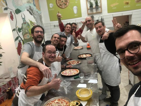Lab Comida Italiana: Top Pizza Course.....
