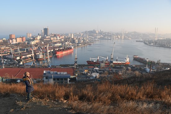 Vladivostok, Rusia: At one of the secret/hidden viewpoints