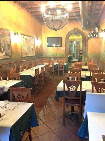 Interiore del ristorante