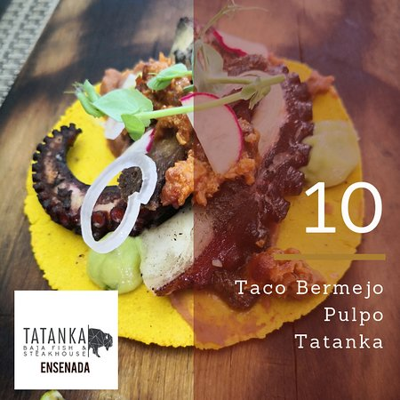 ‪‪Tatanka Baja Fish and Steakhouse‬: Taco de Pulpo.‬