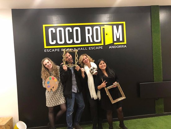 ‪Coco Room Andorra Escape Room‬