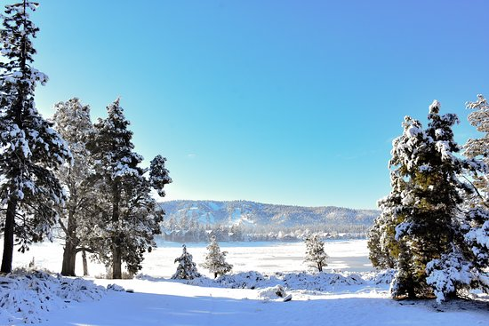 Big Bear Lake, Kalifornija: Sometimes you just need a reminder to take a moment to appreciate nature