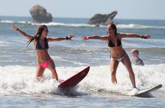 Tamarindo, Costa Rica: surf lessons