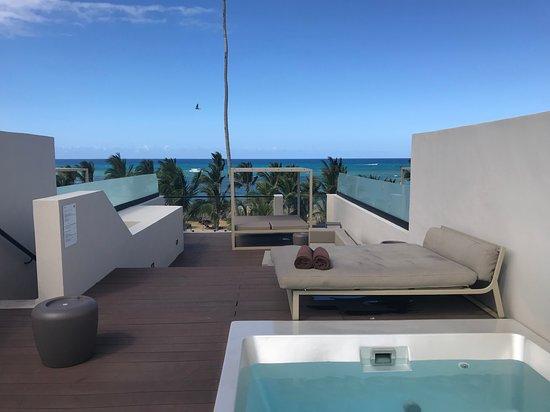 Excellence El Carmen: Honeymoon suit rooftop