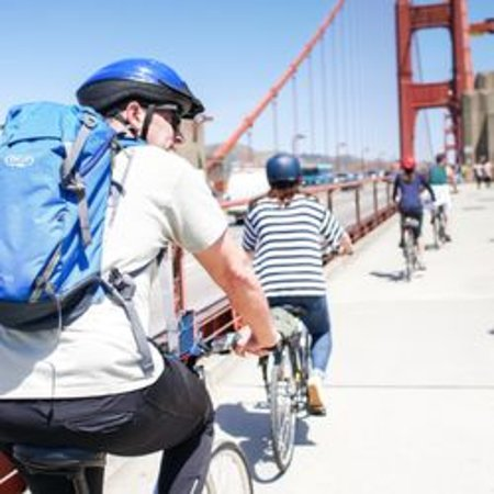 Biking the Golden Gate Bridge