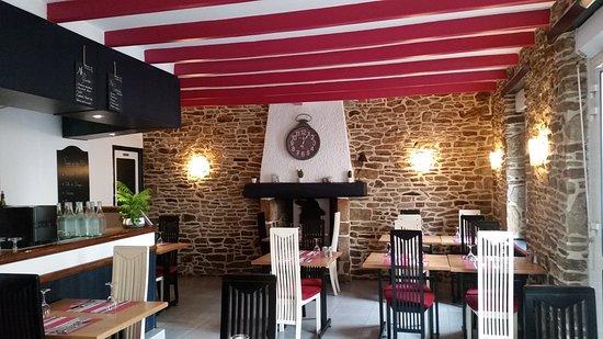 Languidic, Frankrike: 1ère salle de restaurant