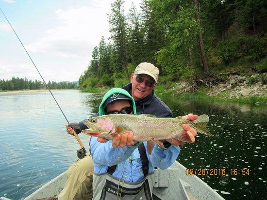 Huge Cutthroat trout!
