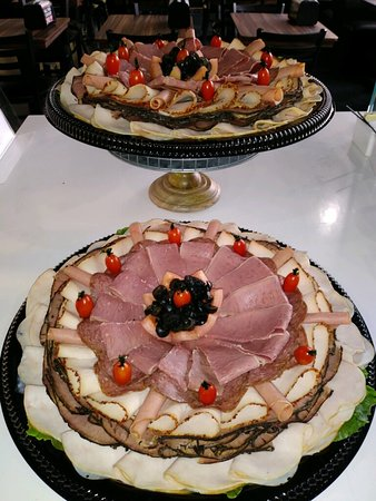 Cold cuts platter!